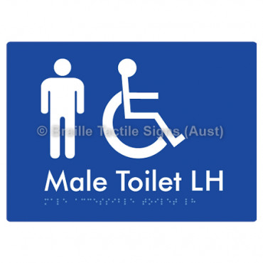 Male Accessible Toilet LH