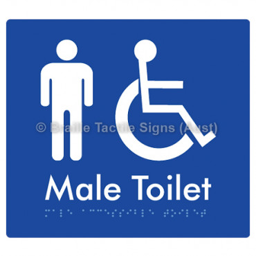 Male Accessible Toilet