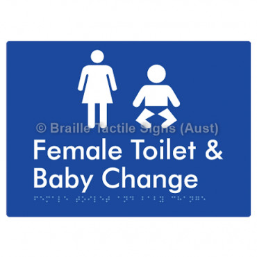Female Toilet and Baby Change