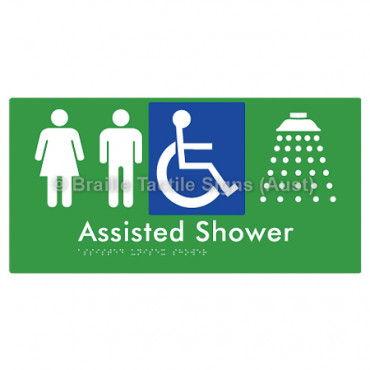 Assisted Unisex Shower