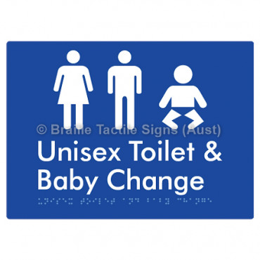Toilet and Baby Change