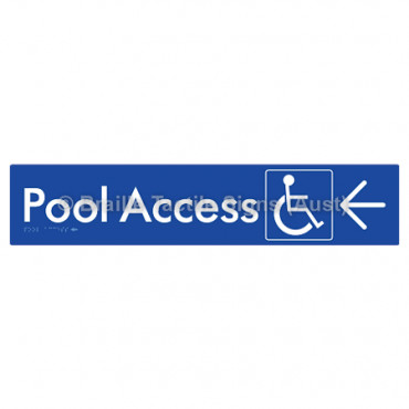 Pool Access w/ Large Arrow: L
