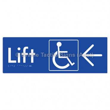 Lift Access w/ Large Arrow: L