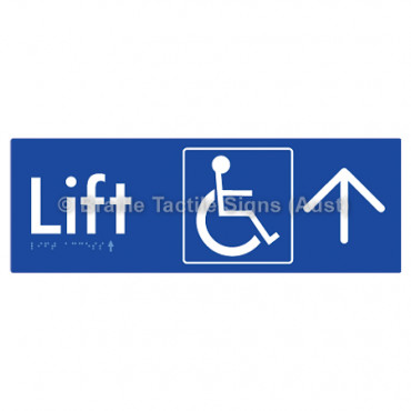 Lift Access w/ Large Arrow: U