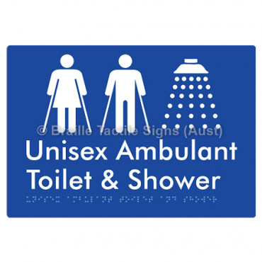 Unisex Ambulant Toilet & Shower
