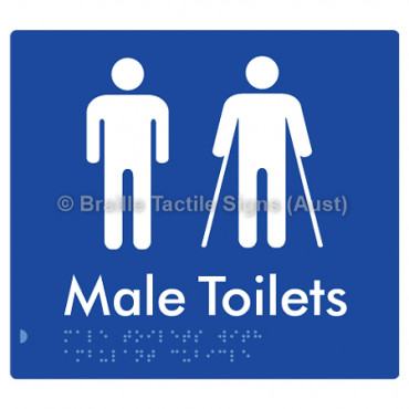Male Toilets with Ambulant Cubicle