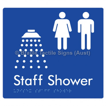 Unisex Staff Shower