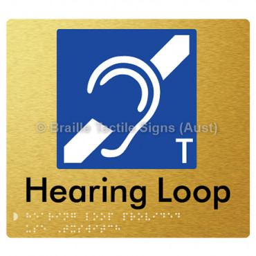 Hearing Loop Provided Use T-Switch