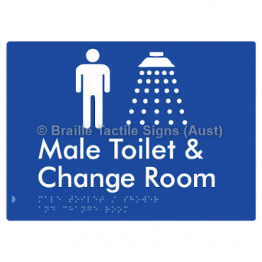 Male Toilet / Shower & Change Room