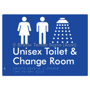 Unisex Toilet / Shower & Change Room