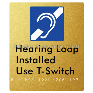 Hearing Loop Installed Use T-Switch