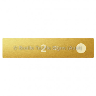 Hand Rail Button - 2 (Right Hand Use)