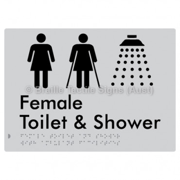 Female Toilet & Shower with Ambulant Facilities