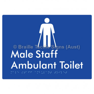 Male Staff Ambulant Toilet