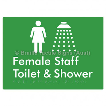 Female Staff Toilet and Shower