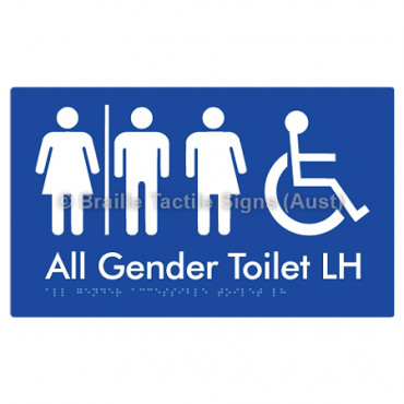 All Gender Accessible Toilet LH  w/ Air Lock