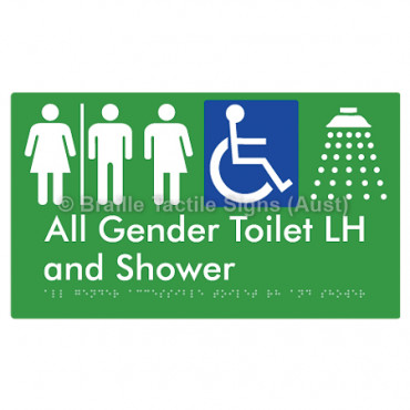 All Gender Accessible Toilet LH and Shower  w/ Air Lock