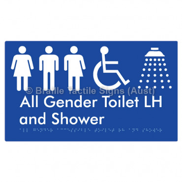 All Gender Accessible Toilet LH and Shower