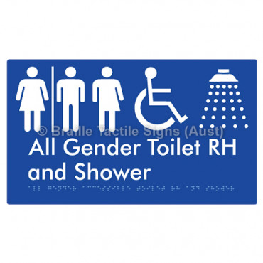 All Gender Accessible Toilet RH and Shower  w/ Air Lock