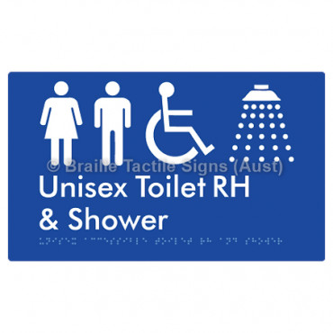 Unisex Accessible Toilet RH & Shower