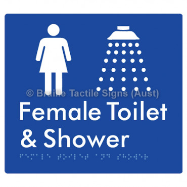 Female Toilet and Shower